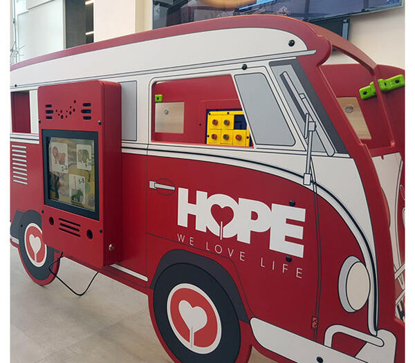 Hope on wheels | IKC