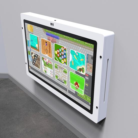 Op deze afbeelding staat een interactief speelsysteem Delta 43 inch