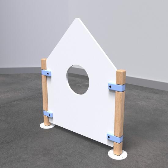 Op deze afbeelding staat speelhek Fence Low roof