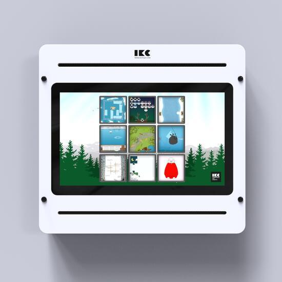 Op deze afbeelding staat een interactief speelsysteem Delta 21 inch white