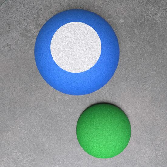 Op deze afbeelding staat een speelvloer element   EPDM vloer