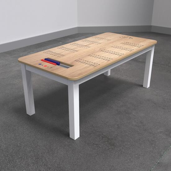 Op deze afbeelding staat een kindertafel | IKC kindermeubels