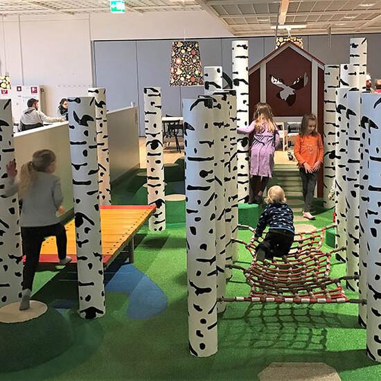 touwbrug voor een avontuurlijke kinderhoek | IKC speelsystemen