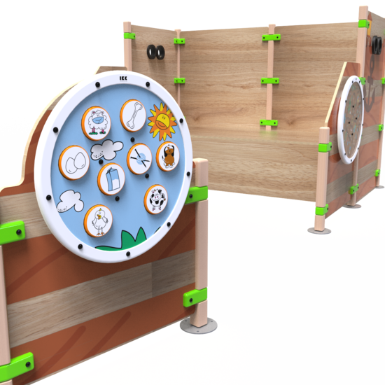 Een speelsysteem met veel speelmogelijkheden in de vorm van een boot | IKC speelhuizen
