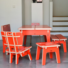 design meubels voor kinderen voor in een speelhoek of wachtruimte